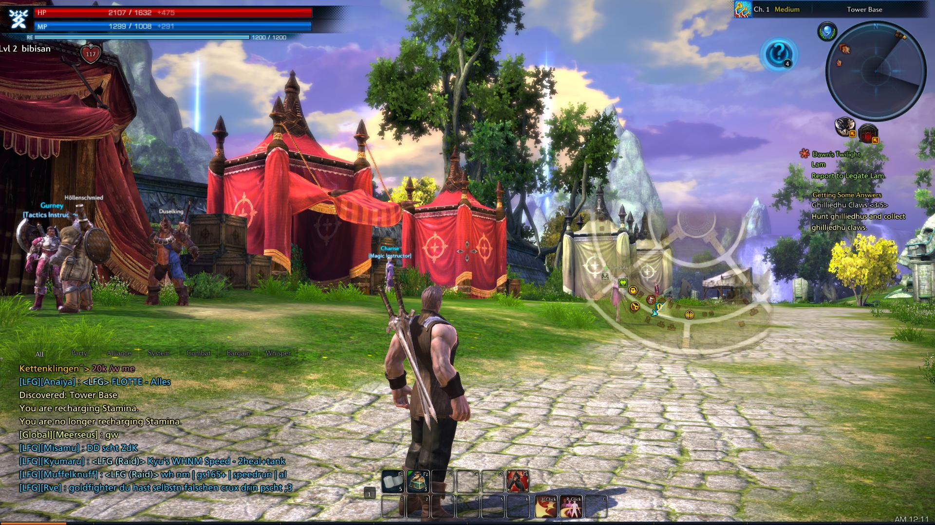 Tera Online How To Change Hair Color