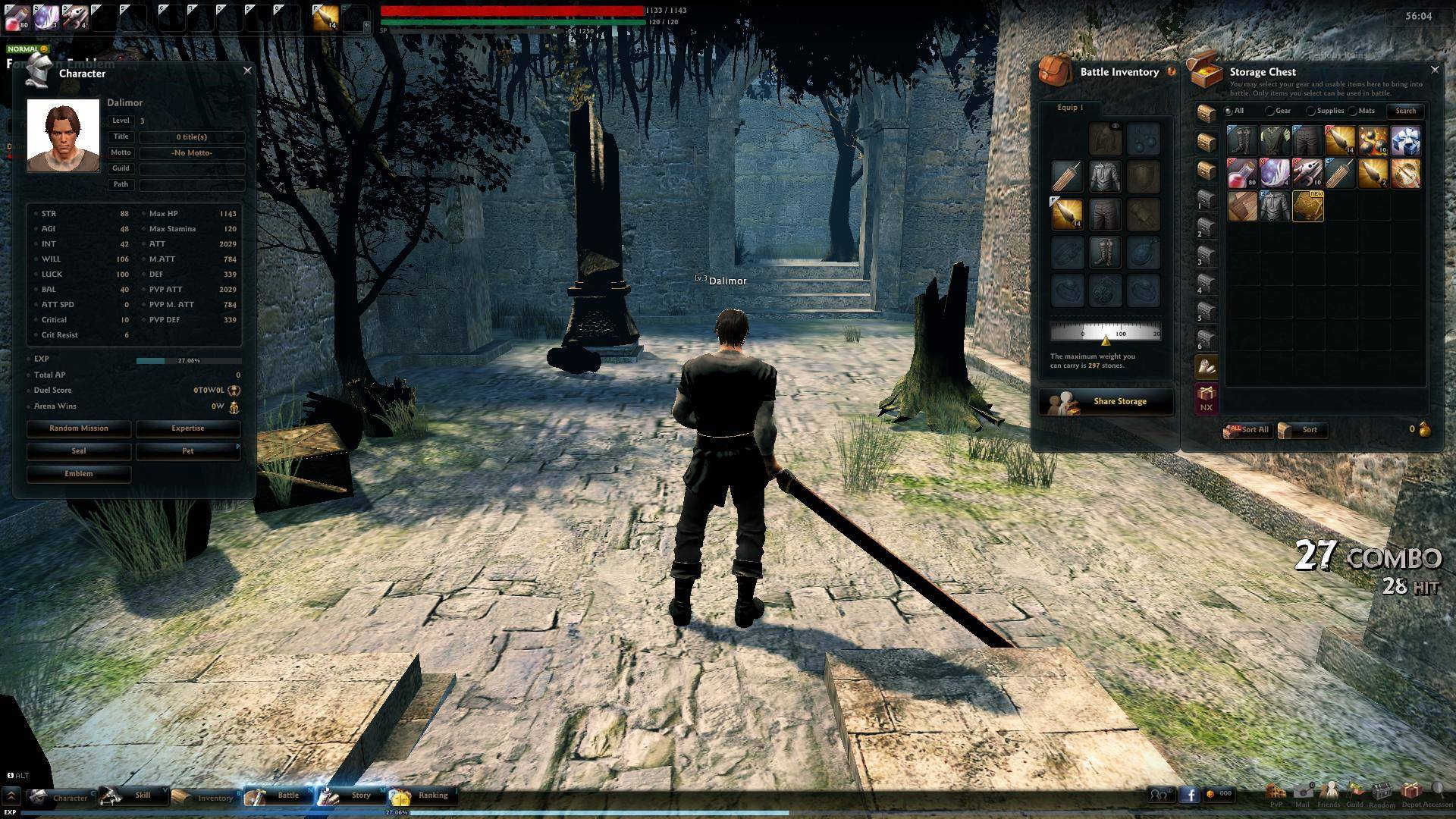Mmo Games For Free : Vindictus review best mmorpg
