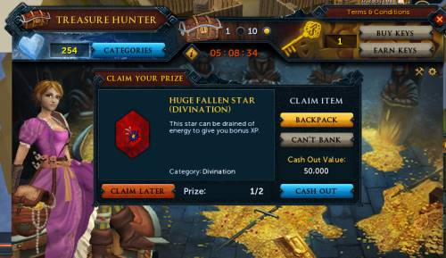runescape treasure hunter