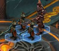 Winterfrost Legacy combat hex formation